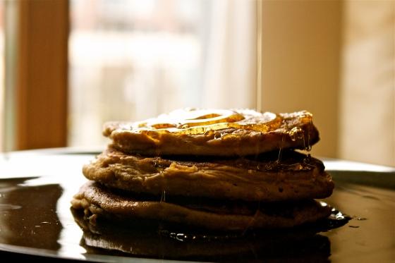 millet, cinnamon, flour, pancakes, maple, syrup, honey, molasses, gluten, free, dairy, free, breakfast