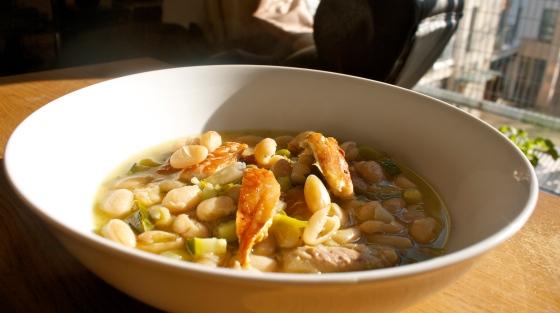 mackerel, tarragon, bean, soup, stew, fish, pepper, dinner, lunch, ideas
