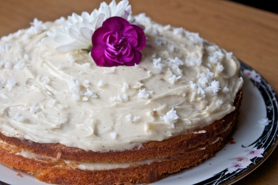 cake, coconut, light, moist, almond, flour, gluten, free, flower, tea, jasmine, cooking, baking, layer, cake, birthday cake, delicious, easy, cheap