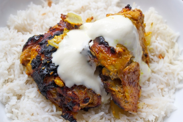 mild, spice, chicken, frugal, easy, gluten free, yoghurt, simple, tender, recipe