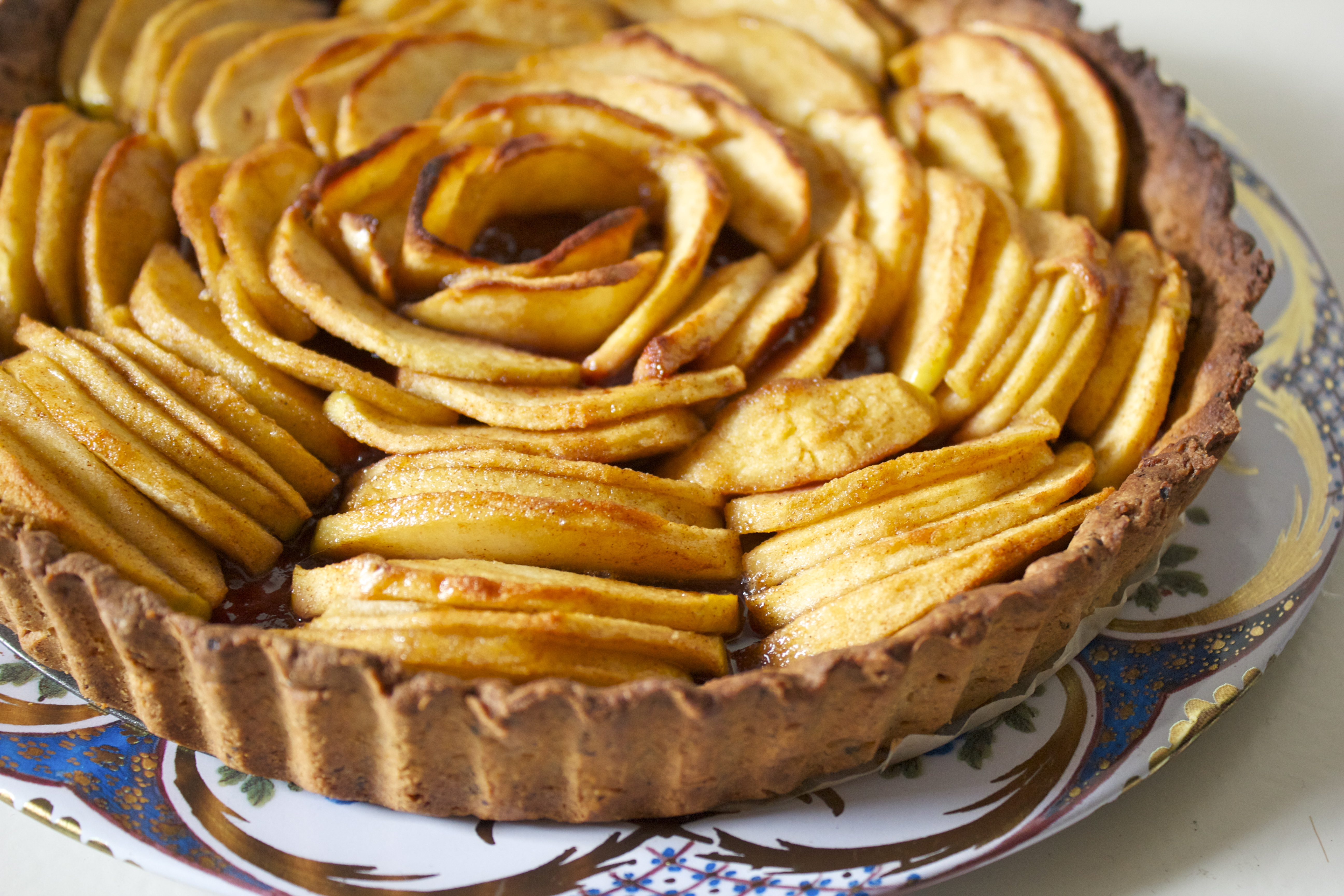Apple Tartlets With An Olive Oil And Buckwheat Crust Recipes ...