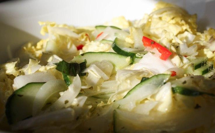 Chinese leaf, winter, salad, gluten free,