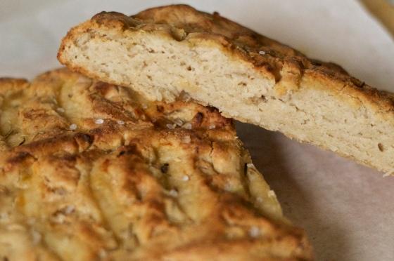 gluten free, focaccia