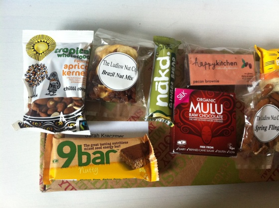 The Nutribox, Mini, gluten free,  Nibbles