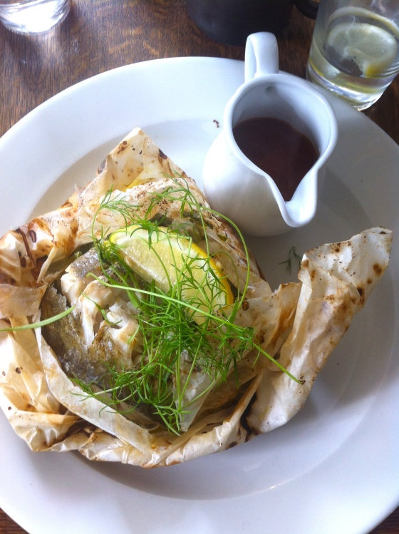 swan at wedmore, gluten free, cornish pollack, lunch, menu, gluten free review