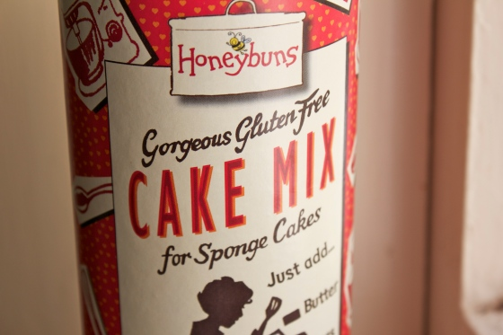 Honeybuns, gluten free, cake mix