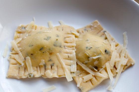 Gluten Free Fresh Chickpea and Sage Pasta Recipe