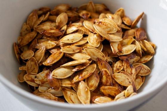 Roasted, Pumpkin seeds, gluten free,