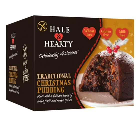 Hale and Hearty, gluten free, christmas, pudding