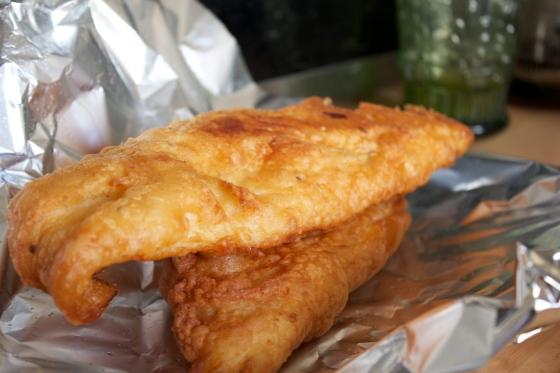 gluten free beer battered fish