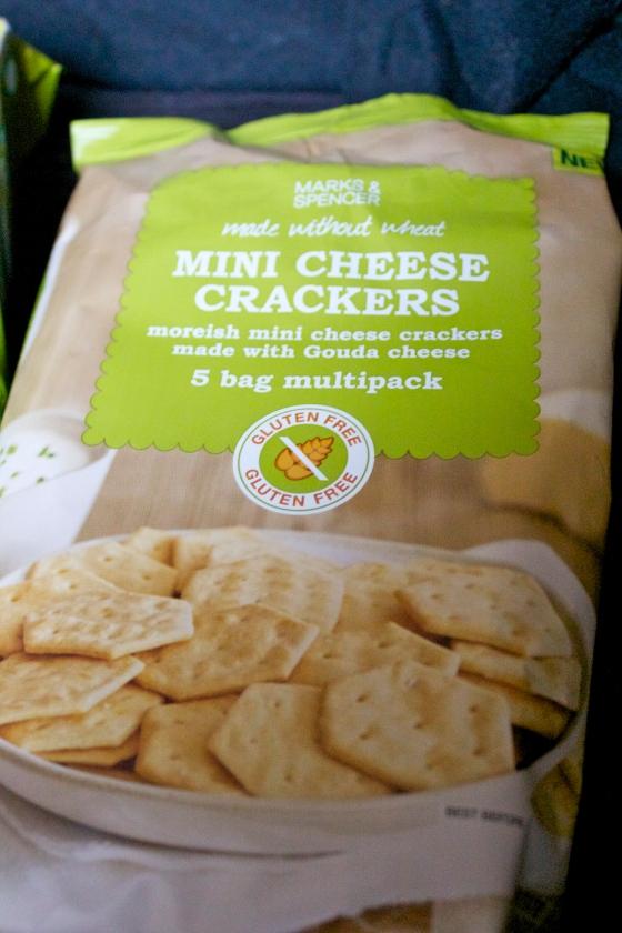 gluten free, mini ,cheese crackers