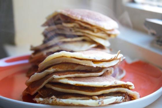 gluten free, oat, pancake, recipe