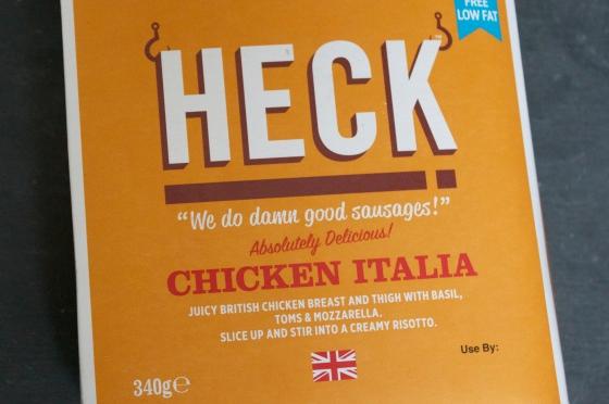 Heck, Chicken Italia, Gluten Free, Sausages