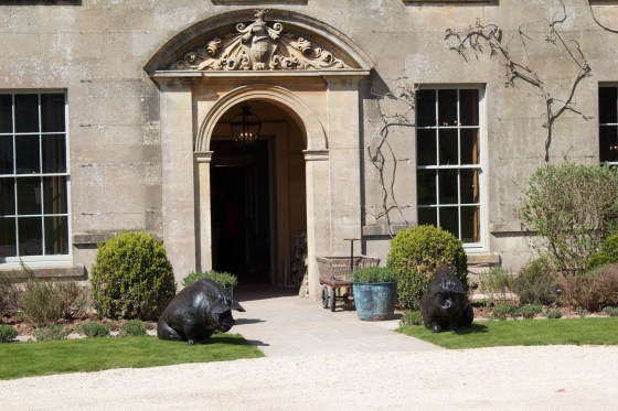 The Pig Hotel, Bath, gluten free, hotel