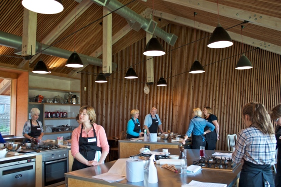 River cottage, gluten free, cookery course