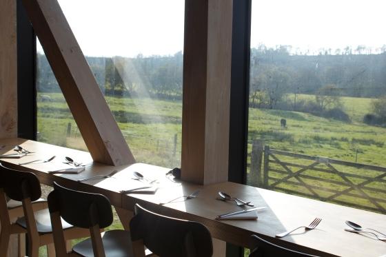 river cottage, kitchen, lunch