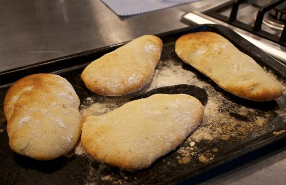 Gluten free, pitta breads