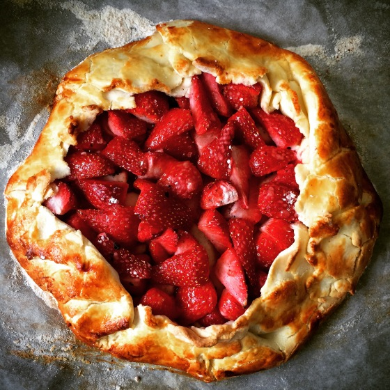 Gluten Free, Strawberry, Apple,Vanilla Bean, Galette