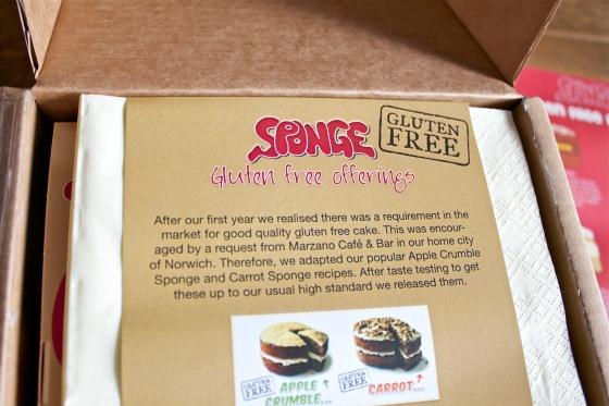 gluten free, sponge, cake, delivery, uk