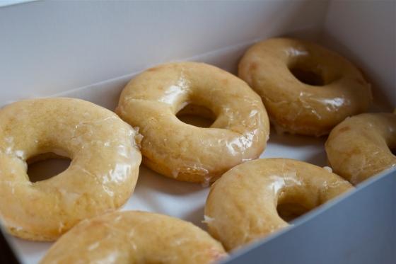 Borough 22, gluten free, doughnuts, review, gluten free doughnut, vanilla doughnut
