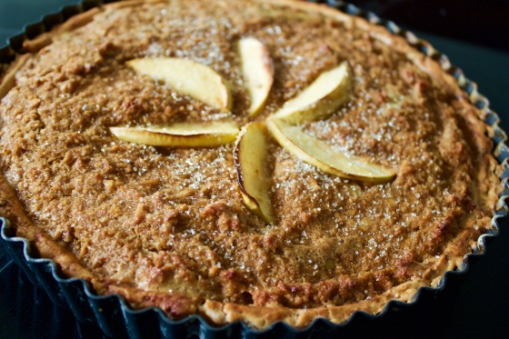 Gluten Free, Spiced, Cider, Apple, Treacle Tart