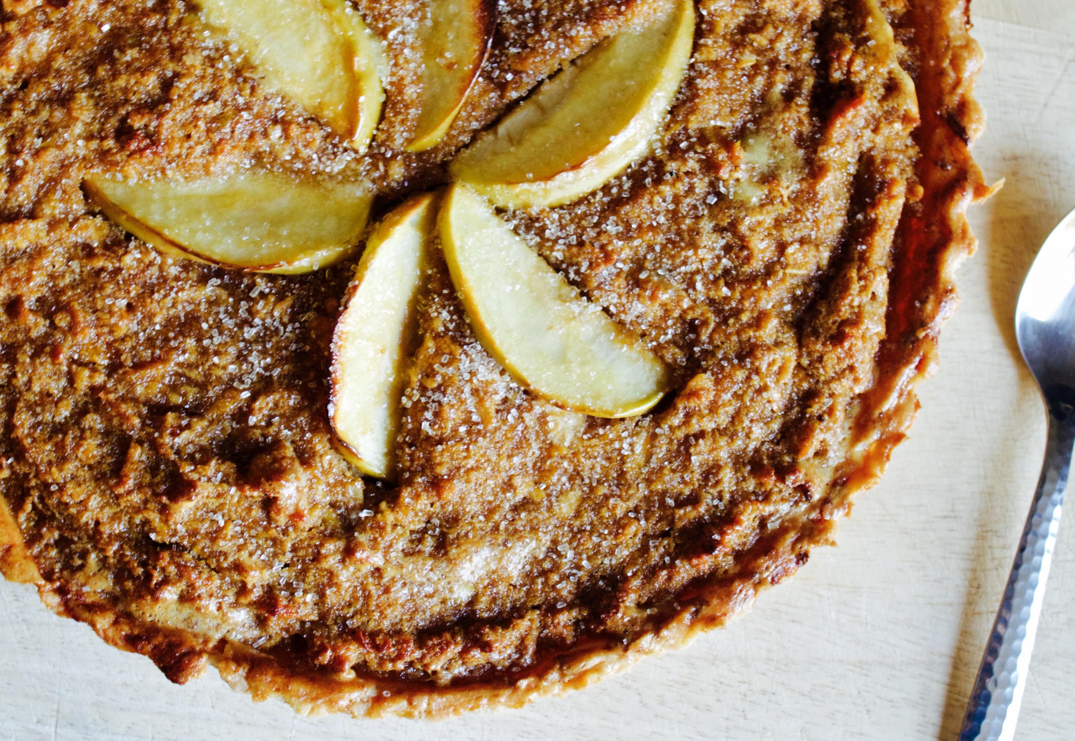 Gluten Free, Spiced, Cider, Apple, Treacle Tart